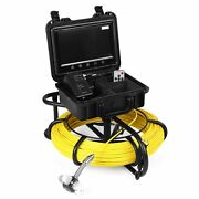 9 Fish Finder 30m/100m Pipe Inspection Camera Drain Sewer Pipeline Industrial
