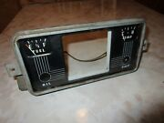 Nice Instrument Board Gauge Cluster And Housing 1951-1952 Henry J And Allstate