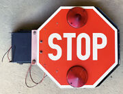 School Bus Stop Sign Large 12v Version See Our Listings For Other Versions
