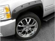 Front And Rear Fender Flare For 2007-2013 Chevy Silverado 1500 2009 2008 F655vn