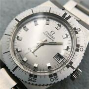 Omega Geneve Cal.1481 Ka 47285 Automatic Stainless Steel Menand039s Watch Swiss Made