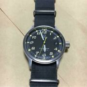 omega Dynamic Chronograph Military Color Swiss Made Adult Watch Japan Shipped