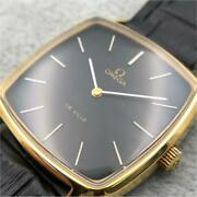 omega De Ville Cal.625 Automatic Black Cushion Case Stainless Steel Adult Watch