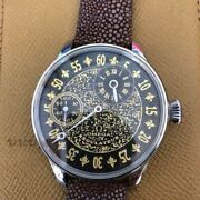 Omega Antique Manual Winding Stainless Steel Menand039s Analog Wristwatch