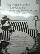 The Waltham And Hamiltonenglish Ladies 1927 Catalogs Of Watches In Plastic Fold