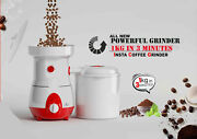 Electric Mill Dry Cereals Grinder Rice Corn Grain Coffee Wheat-1kg In 3 Minutes