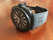 Jeanrichard Terrascope Mens Dlc Stealth Black Automatic Watch With Black Dial