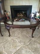 Ethan Allen Georgian Court Cherry, Coffee Table, 2 End Tables Local Pickup Only