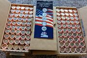 100 Rolls 1999-2008 Complete State Quarters Unc Roll-set Delaware To Hawaii