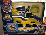 Paw Patrol Mighty Pups Charged Up Chase Charged Up Transforming Vehicle. New