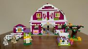 Lego Friends Sunshine Ranch 41039 - Complete W Extra Stable + Animals No Manual