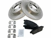 Rear Brake Pad And Rotor Kit For 2016 Chevy Cruze Limited T912gt Rear