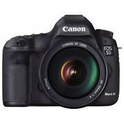 Near Mint Canon Eos 5d Mark Iii With Ef 24-105mm F/4 L Is Usm - 1 Year Warranty