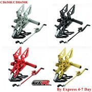 Rearsets Honda Cbr650r Cb650r Gtr Body Foot Peg Pedals Pegs Motorcycle Parts Pro