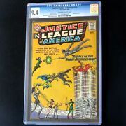 Justice League Of America 13 Dc 1962 💥 Cgc 9.4 💥 Only 4 Higher Speedy Comic