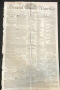 1822 Easton Md Newspaper Tobacco Inspection Guidelines For Maryland Tobacciana