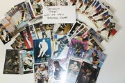 Jaromir Jagr Lot Of 70+ Hockey Sports Cards Some Dupes Some Inserts See Photo