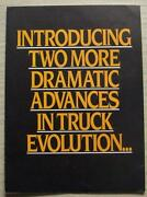 Erf C Series 6 And 8 Wheel Rigids Commercial Vehicles Sales Leaflet 1983