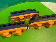 Rays Hong Kong Plastic Train,blue Yellow,incomplete,no2117,vintage Toys
