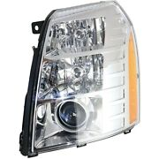 New Left Hid Headlight Assembly Fits Cadillac Escalade 2009-2014 Gm2502348