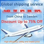 Discount Fedex/tnt/ups Shipping Label From China To Sweden Fast Shipping
