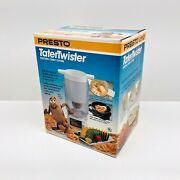 Vintage Presto Potato Tater Twister Electric Curly French Fry Cutter 2930 Nib