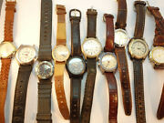Timex Expedition And Indiglo Lot Of Watches For Battery Restorations Or Parts