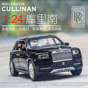 1/24 Scale Rolls Royce Cullinan Diecast Alloy Pull Back Car Collectable Toy Gift