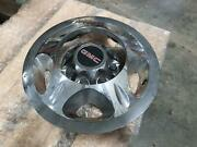 2008-2010 Gmc Sierra 3500 Wheel Cover Outer Ring W/center Front Chrome