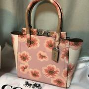 Coach Troop Tote With Sakura Blossom 93969 Pink 2020 Japan Limited [brand-new]