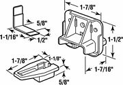Prime-line R 7321 Drawer Track Guide And Glide, Plastic, Dark Brown 4 6 Pack