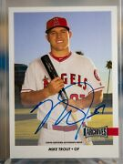 2017 Topps Archives As-mt Mike Trout Archives Auto 5/9