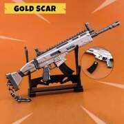 Fortnite Game Battle Royale Assault Weapon Scar Toy Keychain 6.5 Xl