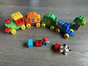 Lego Duplo My First Alphabet Truck Set 10915 - Used Missing Number 9 Block