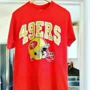 Vtg 1993 San Francisco 49ers T Shirt Size L Single Stitch Made In Usa