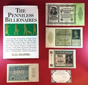 Penniless Billionaires + 1793 French Assignat + German Hyperinflation Banknotes