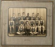 Anderson Indiana Indians 1942-43 High School Basketball Photo - Carl Erskine