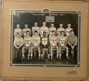 Anderson Indiana Indians 1943-44 High School Basketball Photo- Carl Erskine