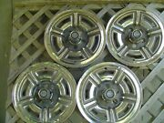 4 Vintage 1966 1967 1968 1969 Ford Galaxie Mustang 15 In Hubcaps Wheel Covers