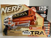 Nerf Ultra Two Motorized Blaster With 6 Nerf Ultra Darts Fast Back Reloading
