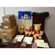 Steiff 1st Disney Winnie The Pooh Limited Edition Lot Of 3 Plush Toy With Box