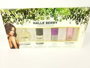 Halle Berry The Fragrance Collection 4pc Women Gift Set New Rare Discontinued