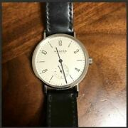 Nomos Tangente Glashanduumltte Limited Edition Menand039s Watch Shipped From Japan