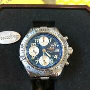 Breitling 1884 A13335 Menand039s Watch With Box Shipped From Japan