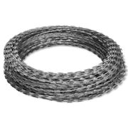 Bto-22 Nato Razor Wire 492and039 328and039 197and039 Steel Chain Helical Barbed Fence Accessory