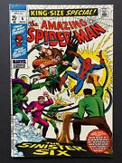 The Amazing Spider-man King Size Special 6, Marvel Comics, Our Grade 9.0