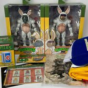 Neca Tmnt Bebop Rocksteady Bunny Suit Loot Crate Size Large