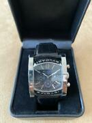 bvlgari Aa44 S Ch Assioma Menand039s Analog Watch Shipped From Japan
