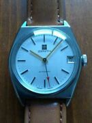 zenith Vintage 1960s Self-winding Menand039s Analog Wristwatch Shipped From Japan