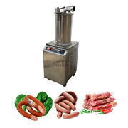 110v1100w Commercial Hydraulic Sausage Stuffer Filler Stainless Steel 26l Sf-260